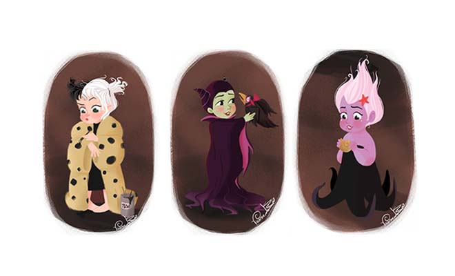 These Disney Villains Re-Imagined As Babies Are Devilishly Adorable