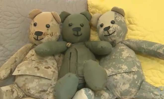 Combat Uniforms of Fallen Soldiers Lovingly Turned into Teddy Bears to Help Mourning Families
