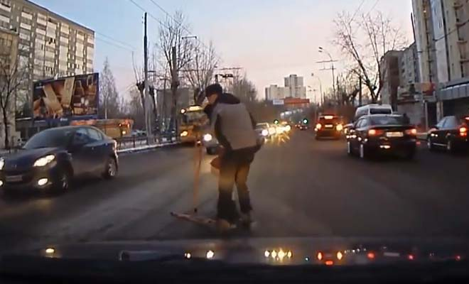 Watch What They Caught on The Dashboard Cam. It Will Restore Your Faith In Humanity.