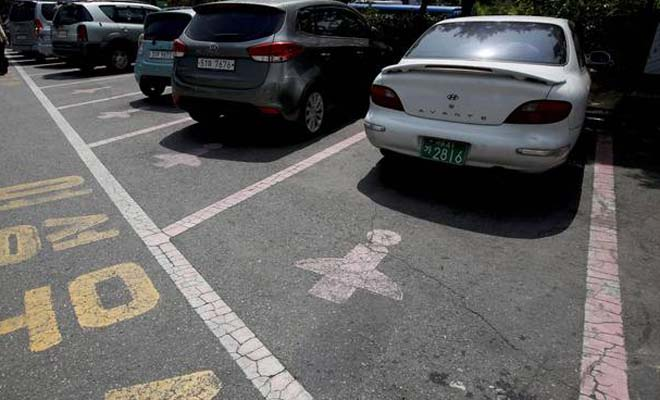 Wider, Longer Parking Spaces Created in South Korea – For Women? You gotta see this!
