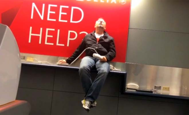 What do you do when you're stuck at the airport overnight? What you're about to see is amazing & hilarious.