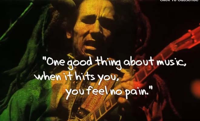 10 Inspirational Bob Marley Quotes