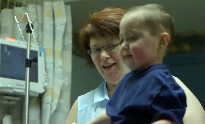This Sick Child Really Wanted To See His Dad. These Kind Strangers Helped Make That Happen.