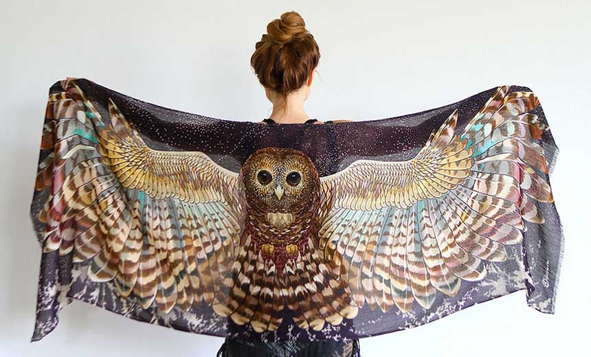 These Gorgeous Scarves Will Literally Make You Look Like An Angel.