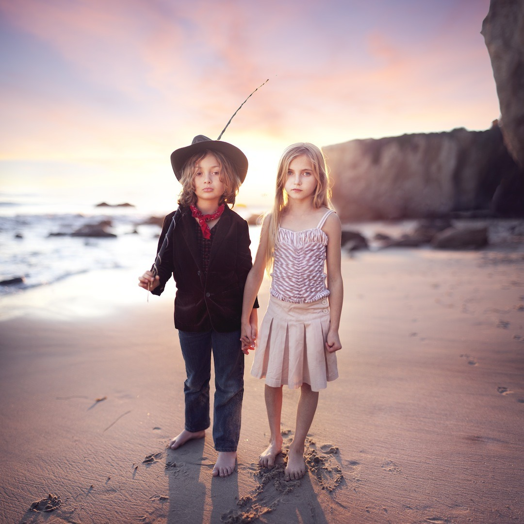 Photographer Captures Surreal Photos Of Foster Children To Celebrate National Adoption Month