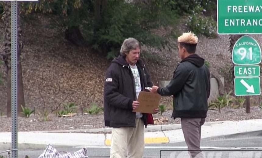 Watch What Happens When This Homeless Man Gets $100. What He Did With The Money Will Touch Your Heart.