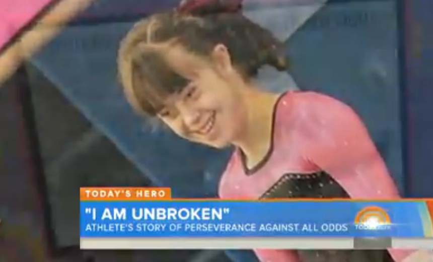 Champion Gymnast With Down Syndrome Proved Herself To Be Unbroken