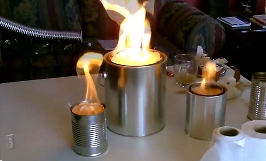 Building Your Own Heater: A Metal Can, Toilet Tissues And A Little Alcohol