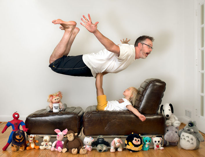 World's Best Dad Gets Crazy. You've got to See These Epic Father-Daughter Photos!