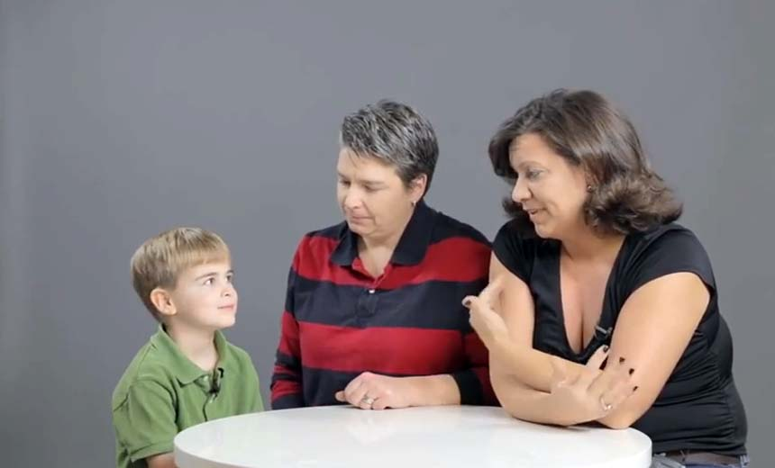 Time to Talk about the Bird's and the Bee's: Watch these Crazy Reactions as Kids Learn about Sex.