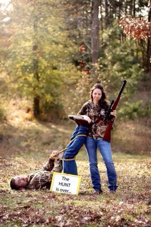 The Hunt is Over: Check out These Epic 18 Hunter/Engagement Photos.