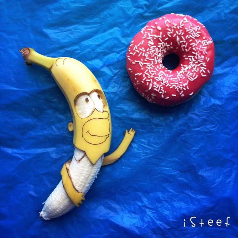 One Man Takes Playing With His Food To A Whole New Level. Don't Miss These Awesome Perishable Creations!