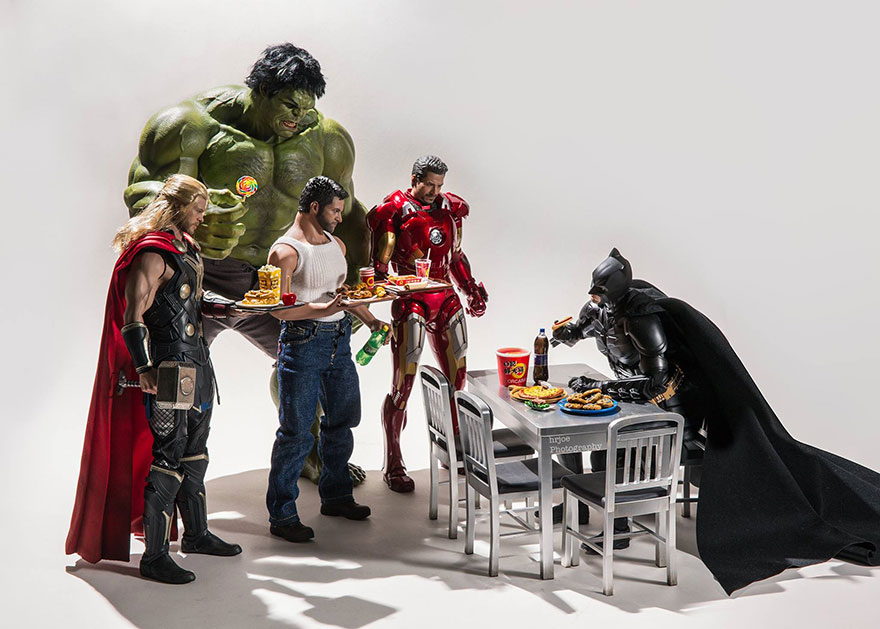 Super Hero Action Figures—for Grown Ups?! These Irreverent Photos are Like Nothing You've Ever Seen