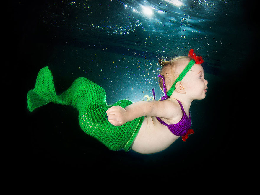 You Won't Believe How Adorable these Underwater Babies are—And the Photos are for a Good Cause!