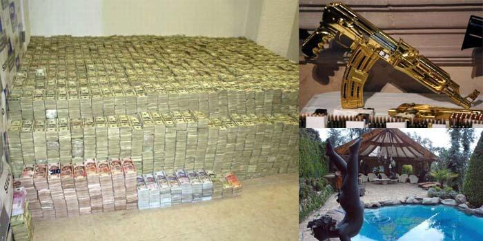 police raid billionaire drug lord u2019s home u2014and what they