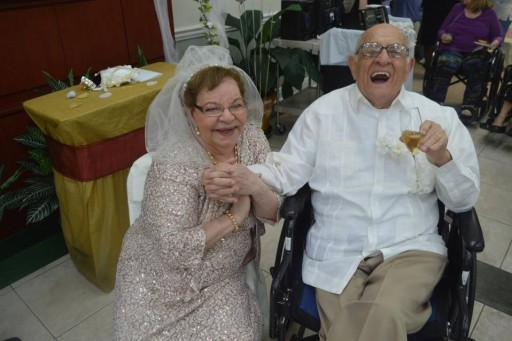 80-Year-Old Bride Gets Married For First Time