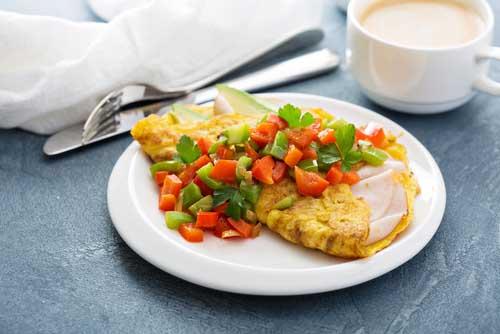 fluffier omelets