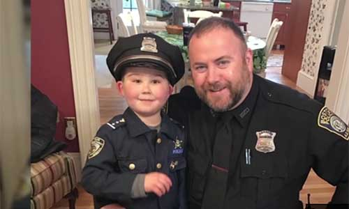 Boy with Cancer is Boston's New Police Commissioner