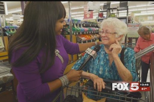 Local TV Network Paying for People's Groceries Goes Viral