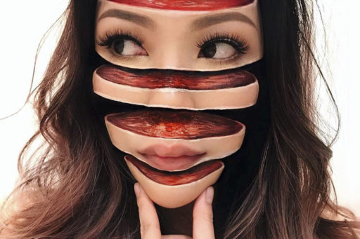 These Terrifying Makeup Illusions Might Just Have You Running for the Hills in Fear