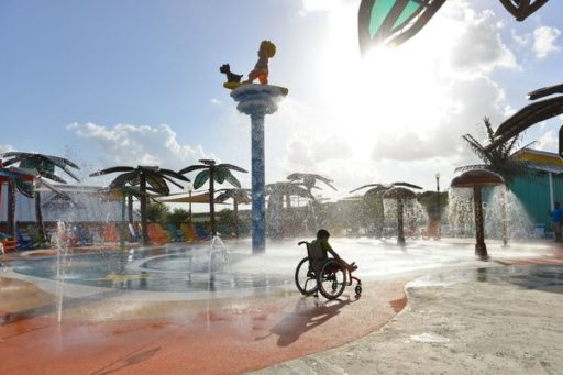 Introducing, The World's First Waterpark for Children with Disabilities.